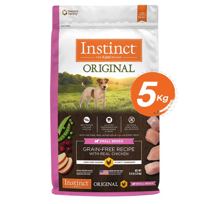 Instinct Original Small Breed  Chicken Dogs 11lb (5kg)