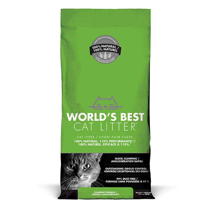 World's Best Cat Litter CLUMPING 12.7 kg [ฟรีค่าจัดส่ง]