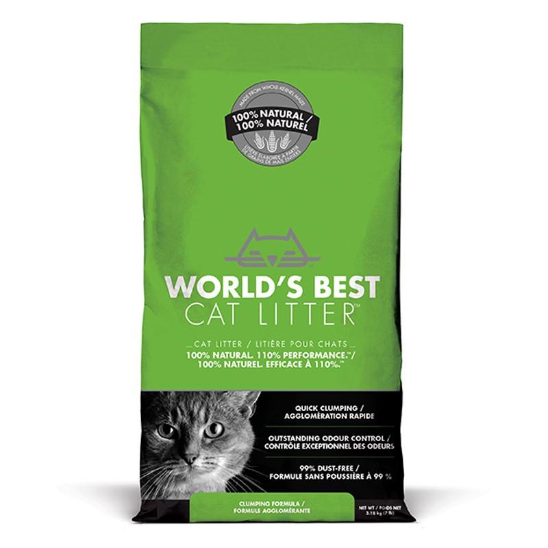 World's Best Cat Litter CLUMPING 3.18 kg [ฟรีค่าจัดส่ง]