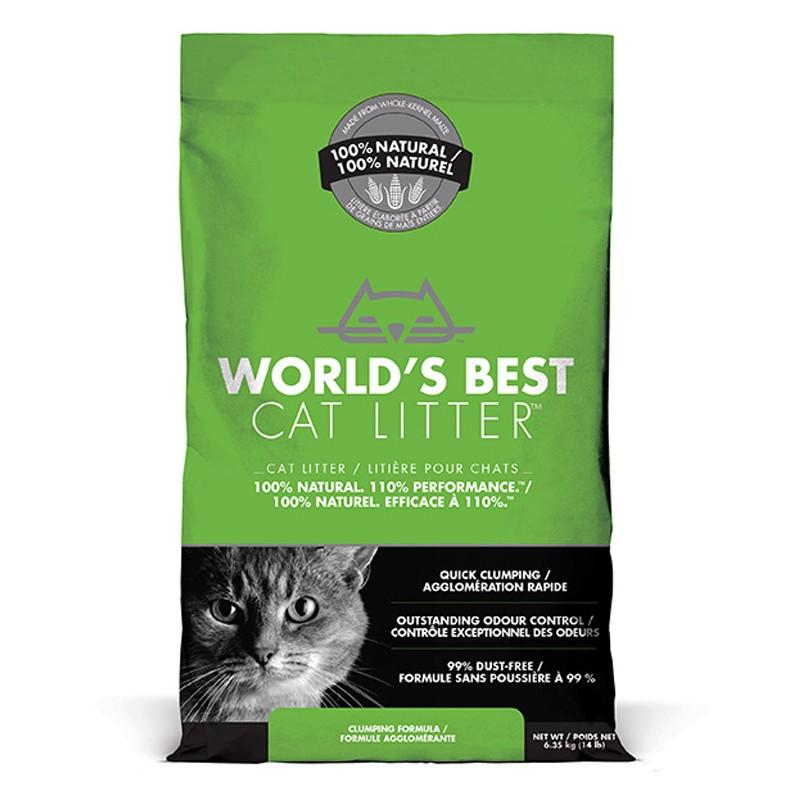 World's Best Cat Litter CLUMPING 6.35 kg [ฟรีค่าจัดส่ง]
