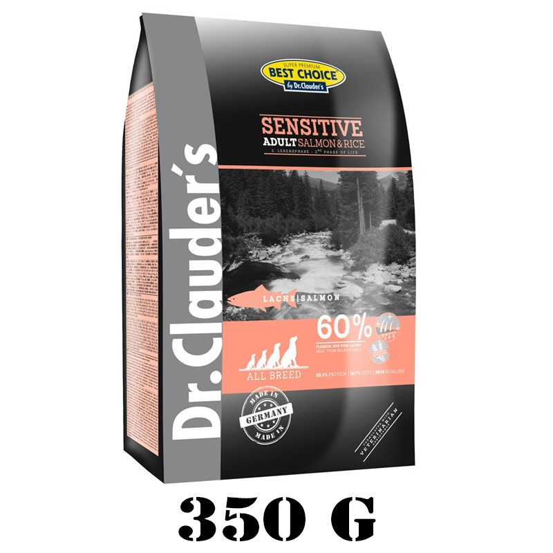 Dr.Clauder's Best Choice Adult Salmon & Rice All Breed 350 g
