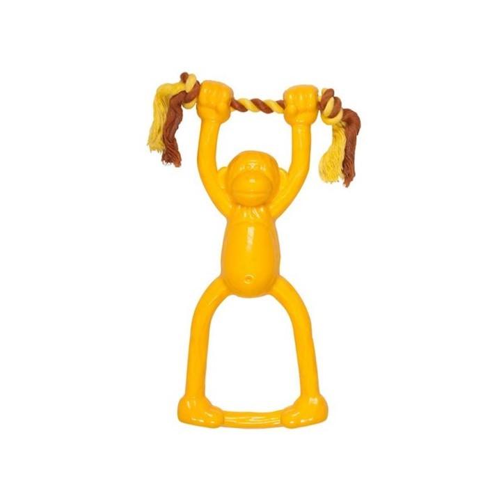 CHOMPER : DOGGY LONG LEGS SMALLNATURAIL TAIL WANGGERS SWINGING MONKEY TUG
