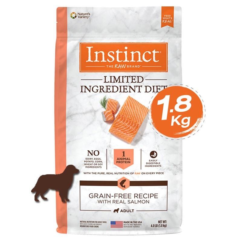 Instinct Limited Ingredient Diet Salmon Dogs 4lb (1.8kg)