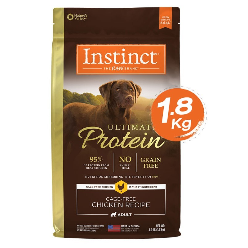 Instinct Ultimate Protein Chicken Dogs 4lb (1.8kg)