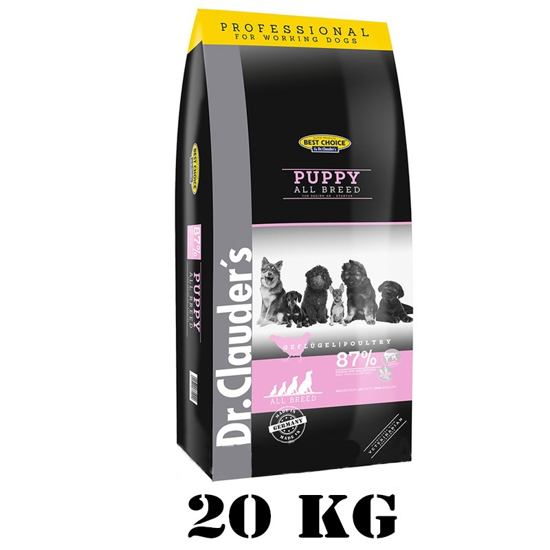 Dr.Clauder's Best Choice Puppy All Breed 20 kg