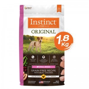 Instinct Original Small Breed  Chicken Dogs 4lb (1.8kg)