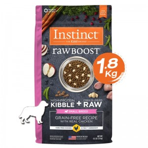 Instinct Raw Boost Small Breed Chicken Dogs 4lb (1.8kg)
