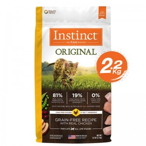 Instinct Original Chicken Cats 5lb (2.2kg)