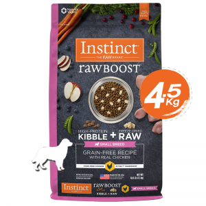 Instinct Raw Boost Small Breed Chicken Dogs 10lb (4.5kg)