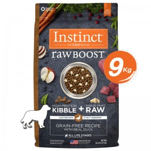Instinct Raw Boost Duck Dogs 20lb (9kg)