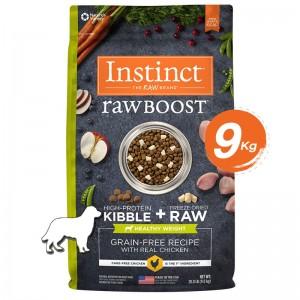 Instinct Raw Boost Healthy Weight Chicken Dogs 20lb (9kg)