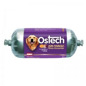 อาหารสุนัขออสเทค-ไส้กรอก-ไก่งวงและแฮม