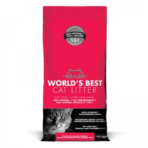 World's Best Cat Litter MULTIPLE CAT CLUMPING 12.7 kg [ฟรีค่าจัดส่ง]