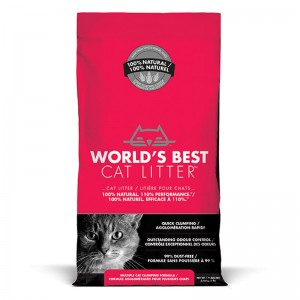 [Pre Order] World's Best Cat Litter MULTIPLE CAT CLUMPING 3.18 kg