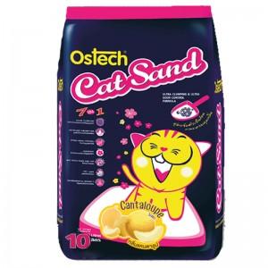 ทรายแมวอนามัยเม็ดกลม ออสเทค(กลิ่นแคนตาลูป) 10L