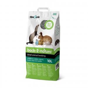 แบ็ค-ทู-เนเจอร์:ทรายกระดาษสำหรับกระต่ายและสัตว์เลี้ยงขนาดเล็ก 10 ลิตร