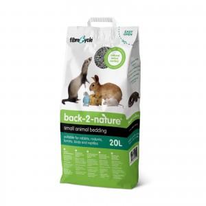 แบ็ค-ทู-เนเจอร์:ทรายกระดาษสำหรับกระต่ายและสัตว์เลี้ยงขนาดเล็ก 20 ลิตร