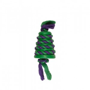 CHOMPER : MONGOOSE RUBBER/ROPE TUG & TOSS