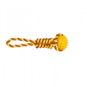 CHOMPER :NATURAIL TAIL WANGGERS TPR FOOTBALL ROPE TUG