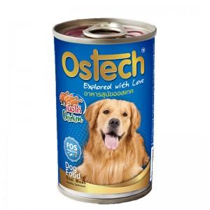 อาหารกระป๋องสุนัขออสเทค รสไก่ 400 g.