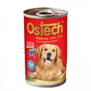 อาหารกระป๋องสุนัขออสเทค รสเนื้อ 400 g.