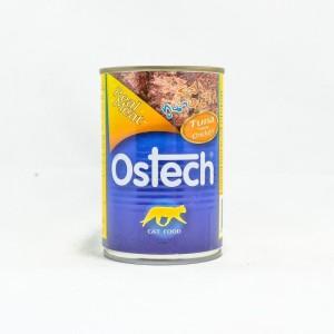 อาหารกระป๋องแมวออสเทค รสทูน่าหน้าไก่ 400 g.