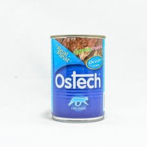 อาหารกระป๋องแมวออสเทค รสปลาทะเลรวม 400 g.