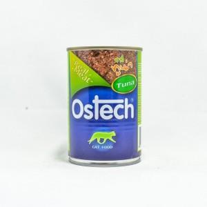 อาหารกระป๋องแมวออสเทค รสทูน่า 400 g.