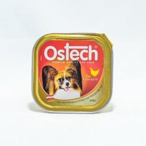 อาหารถาดสุนัขออสเทค รสไก่  100 g.