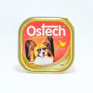 อาหารถาดสุนัขออสเทค รสไก่  300 g.