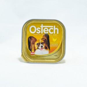 อาหารถาดสุนัขออสเทค รสไก่+ชีส 150 g.