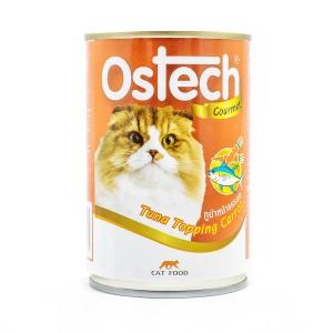 อาหารกระป๋องแมวออสเทค กัวเม่ รสทูน่าหน้าแครอท 400 g.
