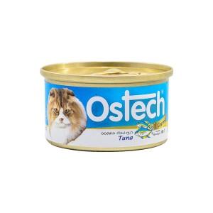 อาหารกระป๋องแมวออสเทค กัวเม่ รสทูน่า 80 g.