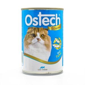 อาหารกระป๋องแมวออสเทค กัวเม่ รสทูน่า 400 g.