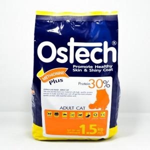 อาหารเม็ดแมวโต ออสเทค 1.5kg