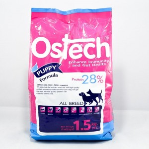 อาหารเม็ดลูกสุนัข ออสเทค 1.5 kg