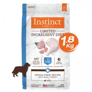 Instinct Limited Ingredient Diet Turkey Dogs 4lb (1.8kg)