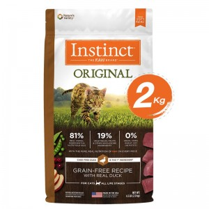 Instinct Original Duck Cats 4.5lb (2kg)