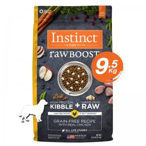 Instinct Raw Boost Chicken Dogs 21lb (9.5kg)