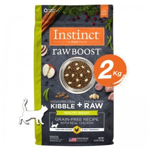 Instinct Raw Boost Healthy Weight Chicken Cats 4.5lb (2kg)