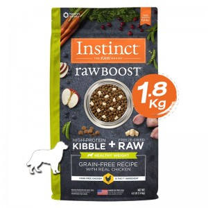 Instinct Raw Boost Healthy Weight Chicken Dogs 4lb (1.8kg)