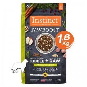 Instinct Raw Boost Healthy Weight Chicken Dogs 4lb (1.8kg)