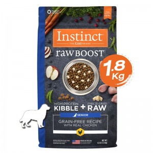 Instinct Raw Boost Senior Chicken Dogs 4lb (1.8kg)