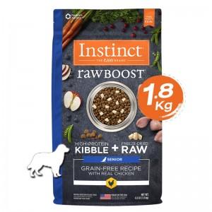 Instinct Raw Boost Senior Chicken Dogs 4lb (1.8kg)