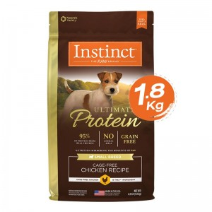 Instinct Ultimate Protein Small Breed Chicken Dogs 4lb (1.8kg)