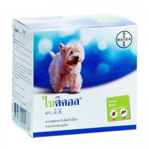 Bayticol ยากำจัดเห็บหมัดสุนัข 100 ซีซี