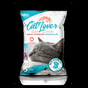 ทรายแมว ออสเทค Cat Lover กลิ่นมินต์ 5 L