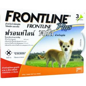 ฟรอนท์ไลน์ พลัส สุนัข S / 1กล่อง x 3 ชิ้น