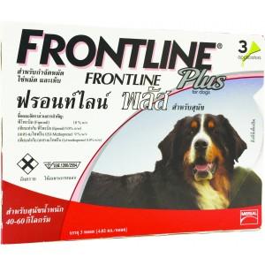 ฟรอนท์ไลน์ พลัส สุนัข XL /  1กล่อง x 3 ชิ้น