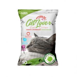 ทรายแมว ออสเทค Cat Lover กลิ่นแอปเปิ้ล 10 L